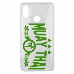 Чехол для Xiaomi Mi Max 3 Muay Thai Hard Body - FatLine