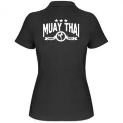 Купить Женская футболка поло Muay Thai Hard Body, FatLine