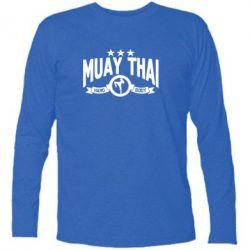 Купить Футболка с длинным рукавом Muay Thai Hard Body, FatLine