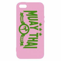 Чехол для iPhone5/5S/SE Muay Thai Hard Body - FatLine