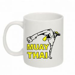 Кружка 320ml Muay Thai Hight kick - FatLine