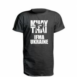 Удлиненная футболка Muay Thai IFMA Ukraine