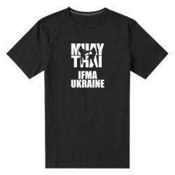 Мужская стрейчевая футболка Muay Thai IFMA Ukraine