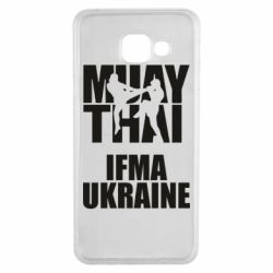 Чехол для Samsung A3 2016 Muay Thai IFMA Ukraine