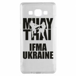 Чехол для Samsung A5 2015 Muay Thai IFMA Ukraine