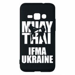 Чехол для Samsung J1 2016 Muay Thai IFMA Ukraine