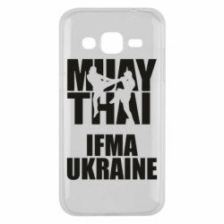 Чехол для Samsung J2 2015 Muay Thai IFMA Ukraine
