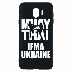 Чехол для Samsung J4 Muay Thai IFMA Ukraine