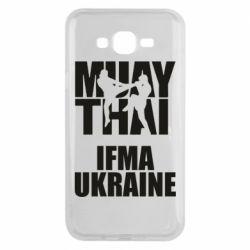 Чехол для Samsung J7 2015 Muay Thai IFMA Ukraine