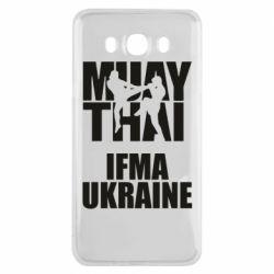 Чехол для Samsung J7 2016 Muay Thai IFMA Ukraine