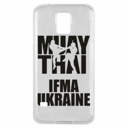 Чехол для Samsung S5 Muay Thai IFMA Ukraine