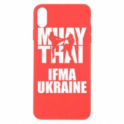 Чехол для iPhone Xs Max Muay Thai IFMA Ukraine