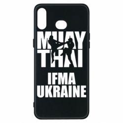 Чехол для Samsung A6s Muay Thai IFMA Ukraine