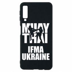 Чехол для Samsung A7 2018 Muay Thai IFMA Ukraine