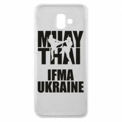 Чехол для Samsung J6 Plus 2018 Muay Thai IFMA Ukraine