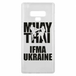 Чехол для Samsung Note 9 Muay Thai IFMA Ukraine