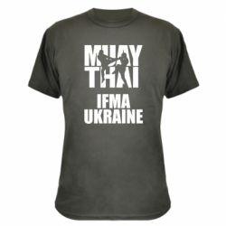 Камуфляжная футболка Muay Thai IFMA Ukraine