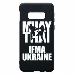Чехол для Samsung S10e Muay Thai IFMA Ukraine