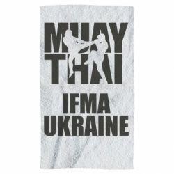 Полотенце Muay Thai IFMA Ukraine