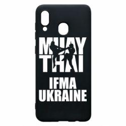 Чехол для Samsung A20 Muay Thai IFMA Ukraine