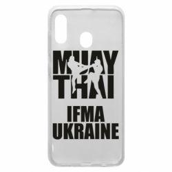 Чехол для Samsung A30 Muay Thai IFMA Ukraine