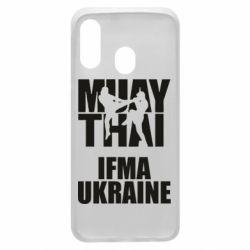 Чехол для Samsung A40 Muay Thai IFMA Ukraine