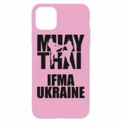 Чехол для iPhone 11 Muay Thai IFMA Ukraine