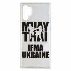 Чехол для Samsung Note 10 Plus Muay Thai IFMA Ukraine