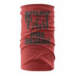 Бандана-труба Muay Thai IFMA Ukraine