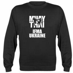 Реглан (свитшот) Muay Thai IFMA Ukraine