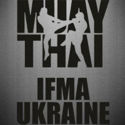 Наклейка Muay Thai IFMA Ukraine