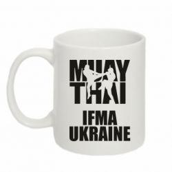 Кружка 320ml Muay Thai IFMA Ukraine