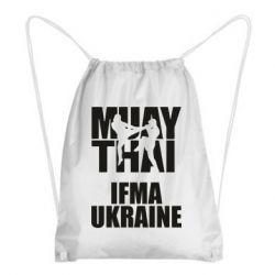 Рюкзак-мешок Muay Thai IFMA Ukraine
