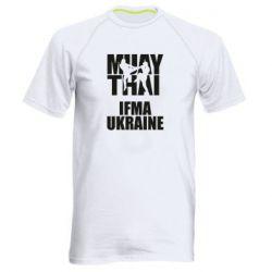 Мужская спортивная футболка Muay Thai IFMA Ukraine