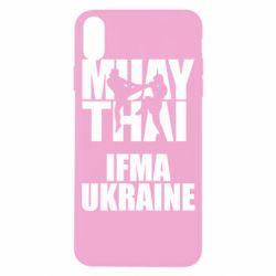 Чехол для iPhone X/Xs Muay Thai IFMA Ukraine