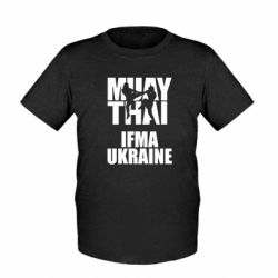 Детская футболка Muay Thai IFMA Ukraine