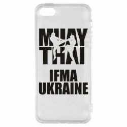 Чехол для iPhone5/5S/SE Muay Thai IFMA Ukraine