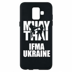 Чехол для Samsung A6 2018 Muay Thai IFMA Ukraine