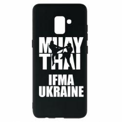 Чехол для Samsung A8+ 2018 Muay Thai IFMA Ukraine