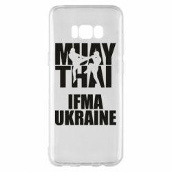 Чехол для Samsung S8+ Muay Thai IFMA Ukraine