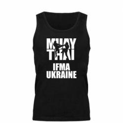 Мужская майка Muay Thai IFMA Ukraine