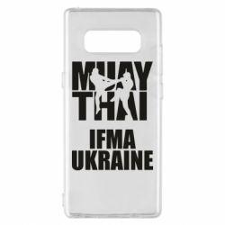 Чехол для Samsung Note 8 Muay Thai IFMA Ukraine