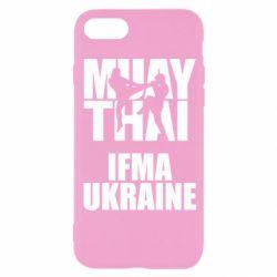 Чехол для iPhone 8 Muay Thai IFMA Ukraine