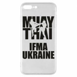 Чехол для iPhone 8 Plus Muay Thai IFMA Ukraine