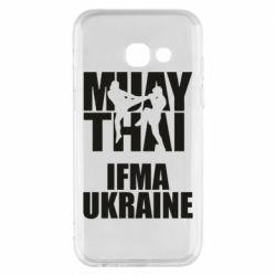 Чехол для Samsung A3 2017 Muay Thai IFMA Ukraine