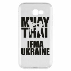 Чехол для Samsung A7 2017 Muay Thai IFMA Ukraine