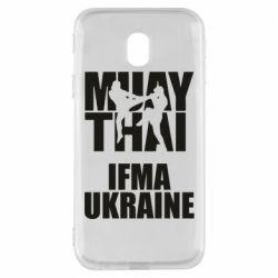 Чехол для Samsung J3 2017 Muay Thai IFMA Ukraine