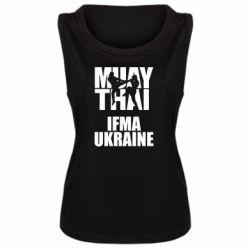 Женская майка Muay Thai IFMA Ukraine