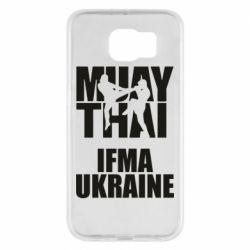 Чехол для Samsung S6 Muay Thai IFMA Ukraine