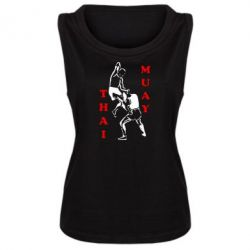 Женская майка Muay Thai Jump - FatLine